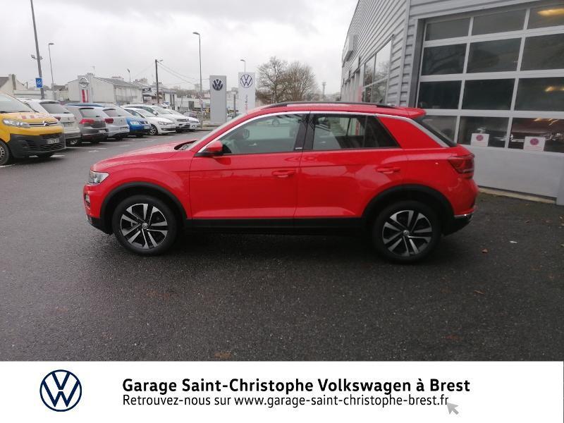 Photo 2 de l'offre de VOLKSWAGEN T-Roc 1.0 TSI 115ch United 134g à 22470€ chez Garage Saint Christophe - Volkswagen Brest