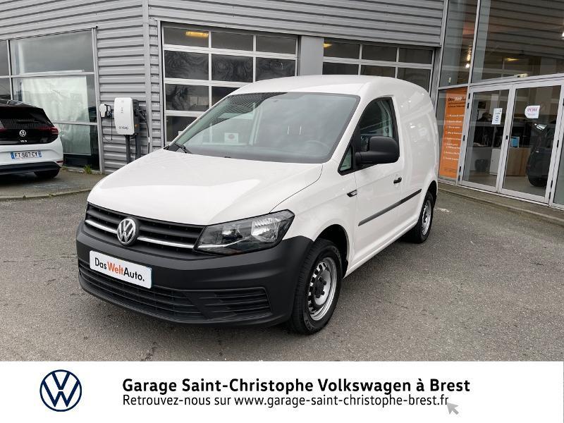 Photo 17 de l'offre de VOLKSWAGEN Caddy Van 2.0 TDI 75ch Business Line à 10970€ chez Garage Saint Christophe - Volkswagen Brest