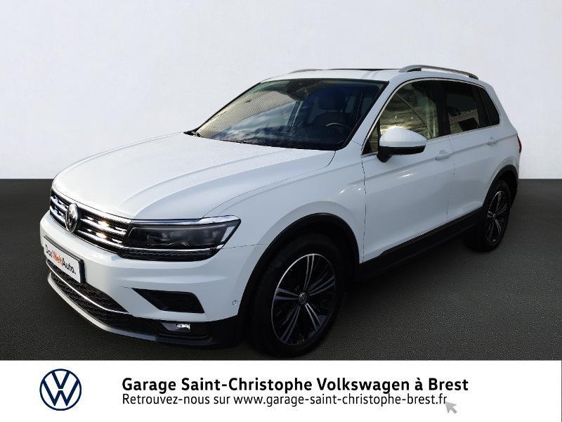 Photo 1 de l'offre de VOLKSWAGEN Tiguan 2.0 TDI 150ch Carat DSG7 Euro6d-T à 32970€ chez Garage Saint Christophe - Volkswagen Brest