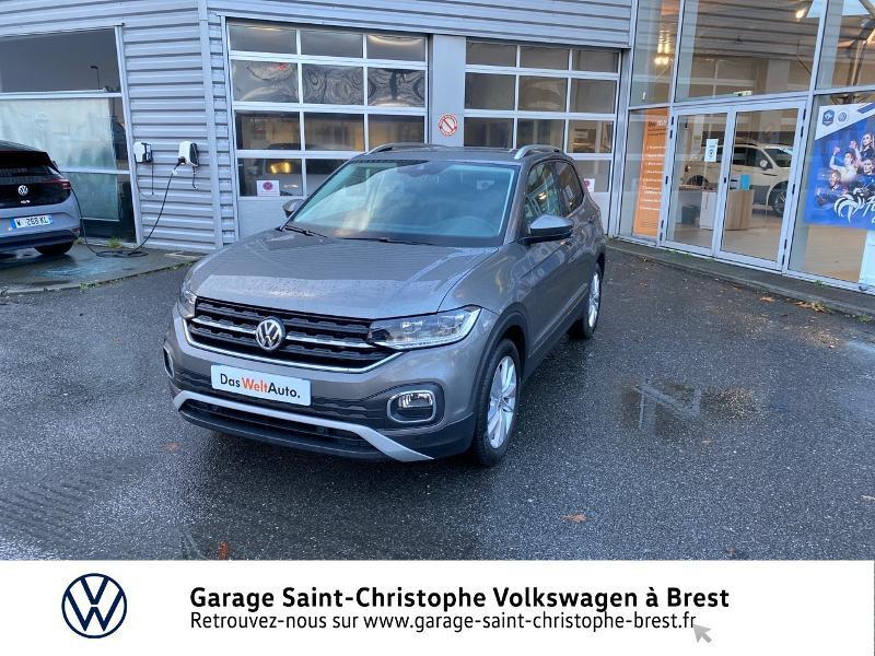 Photo 1 de l'offre de VOLKSWAGEN T-Cross 1.0 TSI 115ch Carat DSG7 à 24470€ chez Garage Saint Christophe - Volkswagen Brest