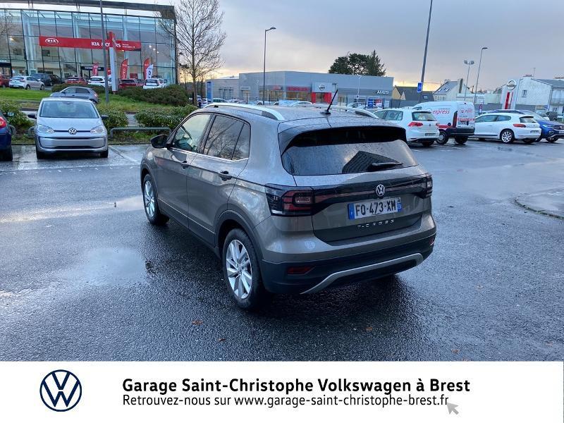 Photo 3 de l'offre de VOLKSWAGEN T-Cross 1.0 TSI 115ch Carat DSG7 à 24470€ chez Garage Saint Christophe - Volkswagen Brest