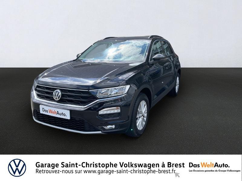 Volkswagen T-Roc 1.0 TSI 115ch Lounge 113g Euro6d-T Essence NOIR INTENSE METAL Occasion à vendre