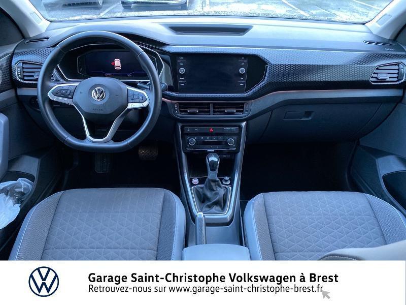 Photo 6 de l'offre de VOLKSWAGEN T-Cross 1.0 TSI 115ch Carat DSG7 à 24470€ chez Garage Saint Christophe - Volkswagen Brest