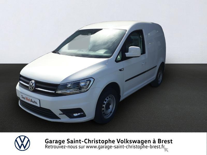 Photo 1 de l'offre de VOLKSWAGEN Caddy Van 2.0 TDI 102ch Business Line Plus à 14830€ chez Garage Saint Christophe - Volkswagen Brest