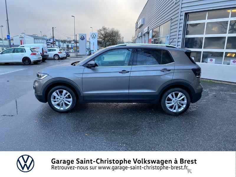 Photo 2 de l'offre de VOLKSWAGEN T-Cross 1.0 TSI 115ch Carat DSG7 à 24470€ chez Garage Saint Christophe - Volkswagen Brest