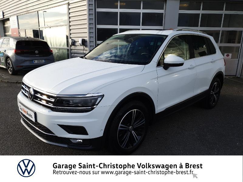 Photo 21 de l'offre de VOLKSWAGEN Tiguan 2.0 TDI 150ch Carat DSG7 Euro6d-T à 32970€ chez Garage Saint Christophe - Volkswagen Brest