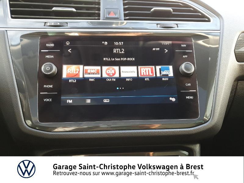 Photo 8 de l'offre de VOLKSWAGEN Tiguan 2.0 TDI 150ch Carat DSG7 Euro6d-T à 32970€ chez Garage Saint Christophe - Volkswagen Brest