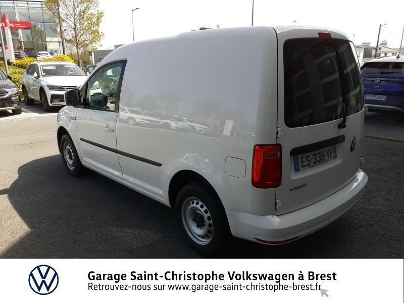 Photo 3 de l'offre de VOLKSWAGEN Caddy Van 2.0 TDI 102ch Business Line Plus à 14830€ chez Garage Saint Christophe - Volkswagen Brest