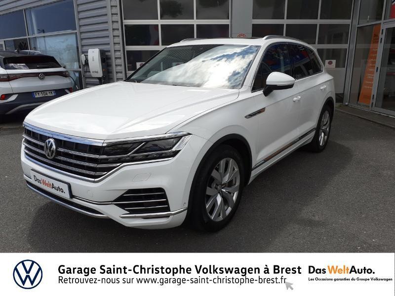 Photo 21 de l'offre de VOLKSWAGEN Touareg 3.0 V6 TDI 286ch Carat Exclusive 4Motion Tiptronic à 48950€ chez Garage Saint Christophe - Volkswagen Brest