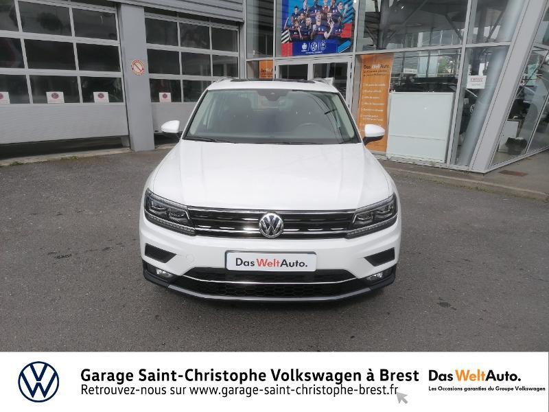 Photo 5 de l'offre de VOLKSWAGEN Tiguan 2.0 TDI 150ch Carat DSG7 Euro6d-T à 29850€ chez Garage Saint Christophe - Volkswagen Brest