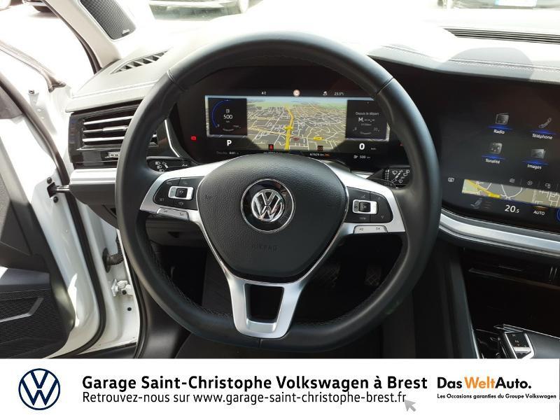 Photo 7 de l'offre de VOLKSWAGEN Touareg 3.0 V6 TDI 286ch Carat Exclusive 4Motion Tiptronic à 48950€ chez Garage Saint Christophe - Volkswagen Brest