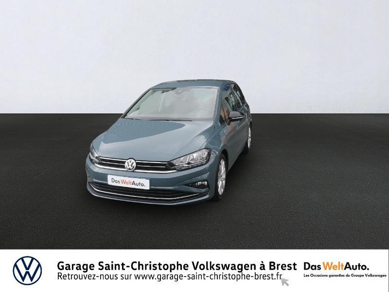 Volkswagen Golf Sportsvan 1.5 TSI EVO 150ch BlueMotion Technology IQ.Drive DSG7 Euro6d-T Essence BLEU PETROLE Occasion à vendre