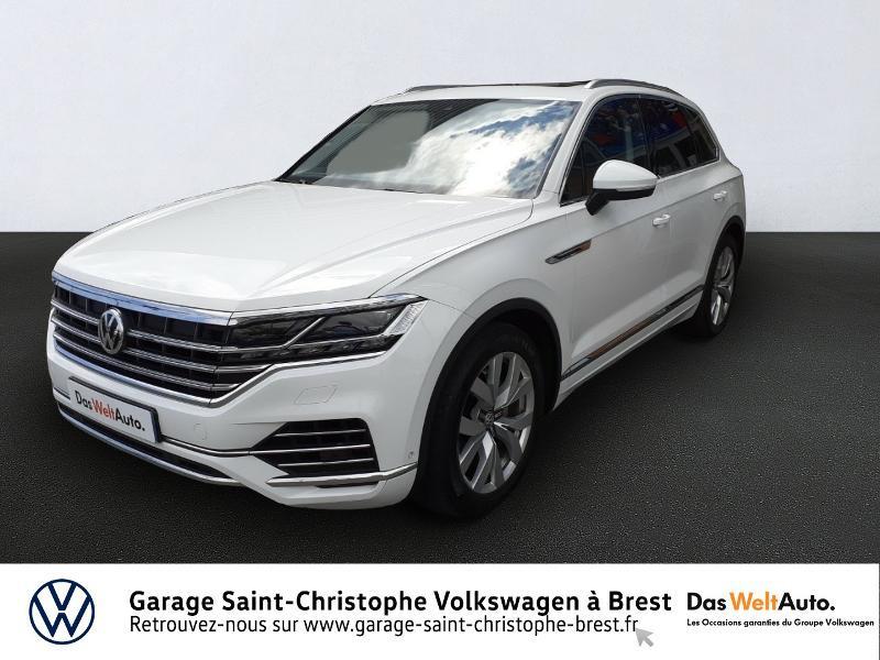 Photo 1 de l'offre de VOLKSWAGEN Touareg 3.0 V6 TDI 286ch Carat Exclusive 4Motion Tiptronic à 48950€ chez Garage Saint Christophe - Volkswagen Brest