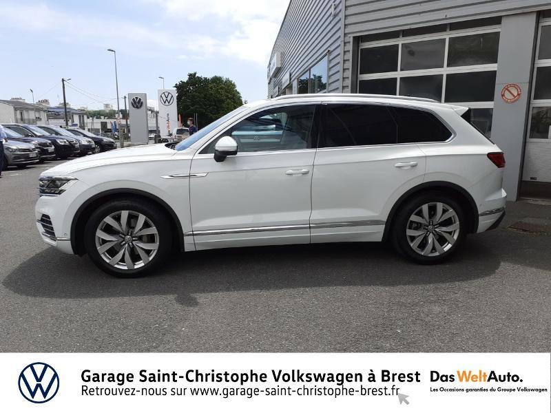 Photo 2 de l'offre de VOLKSWAGEN Touareg 3.0 V6 TDI 286ch Carat Exclusive 4Motion Tiptronic à 48950€ chez Garage Saint Christophe - Volkswagen Brest