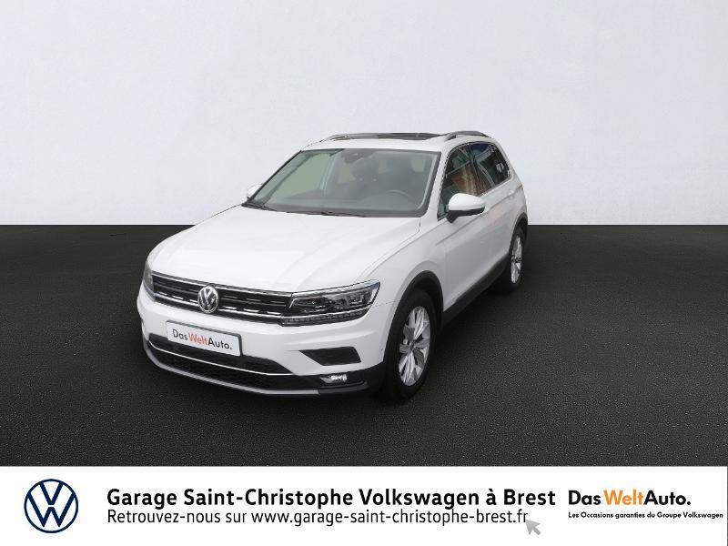 Photo 1 de l'offre de VOLKSWAGEN Tiguan 2.0 TDI 150ch Carat DSG7 Euro6d-T à 29850€ chez Garage Saint Christophe - Volkswagen Brest