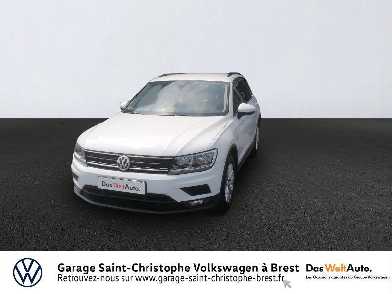 Volkswagen Tiguan 2.0 TDI 150ch Confortline Business Diesel BLANC PUR Occasion à vendre