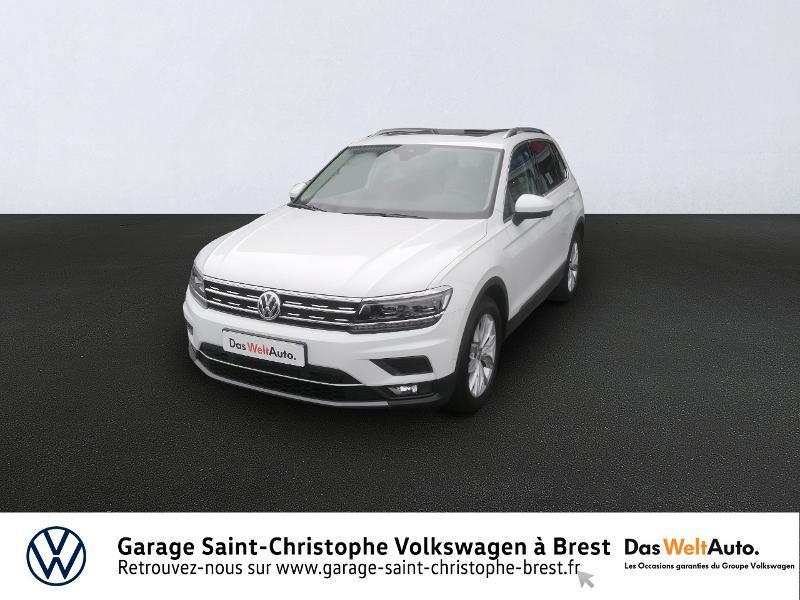 Volkswagen Tiguan 2.0 TDI 150ch Carat DSG7 Diesel BLANC PUR Occasion à vendre