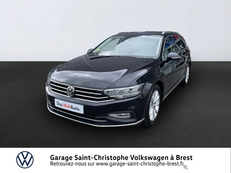 Volkswagen Passat SW 2.0 TDI EVO 150ch Lounge DSG7 8cv Diesel NOIR INTENSE METAL Occasion à vendre