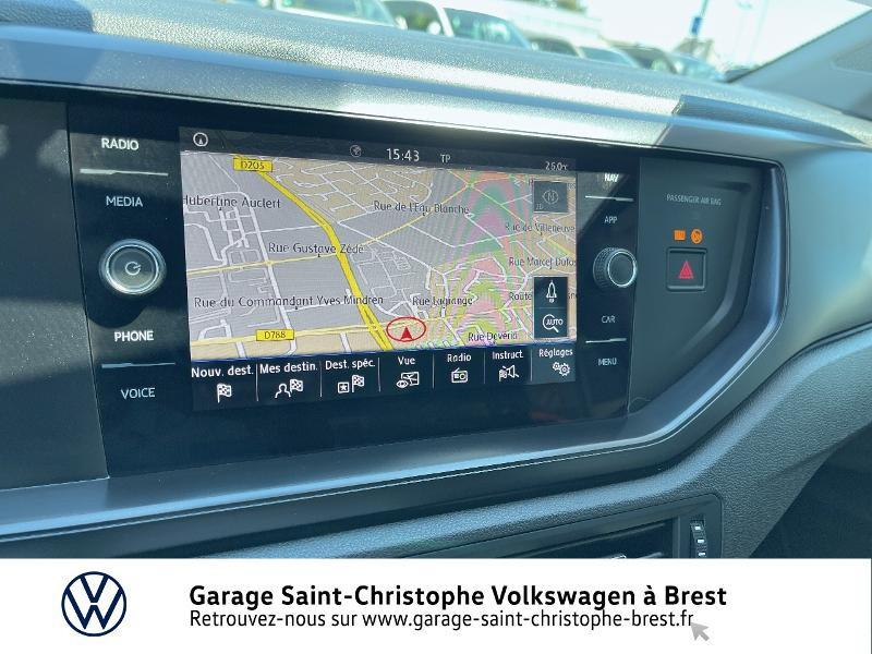 Photo 8 de l'offre de VOLKSWAGEN Polo 1.0 80ch Business Euro6dT à 15370€ chez Garage Saint Christophe - Volkswagen Brest