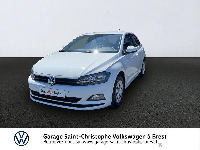 Photo 1 de l'offre de VOLKSWAGEN Polo 1.0 80ch Business Euro6dT à 15370€ chez Garage Saint Christophe - Volkswagen Brest