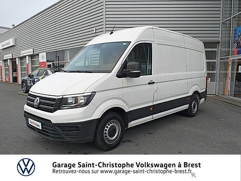 Photo 19 de l'offre de VOLKSWAGEN Crafter Fg 30 L3H3 2.0 TDI 140ch Business Line Traction à 23450€ chez Garage Saint Christophe - Volkswagen Brest