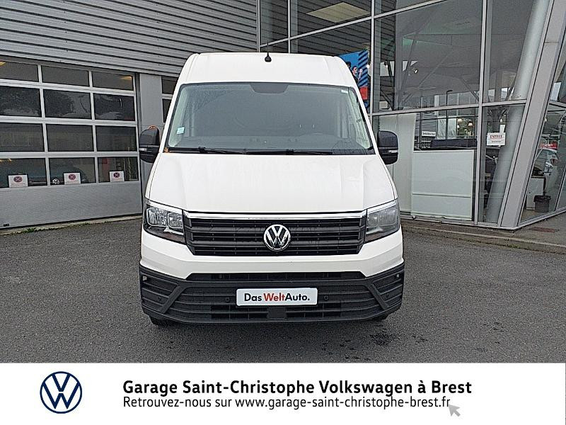Photo 5 de l'offre de VOLKSWAGEN Crafter Fg 30 L3H3 2.0 TDI 140ch Business Line Traction à 23450€ chez Garage Saint Christophe - Volkswagen Brest