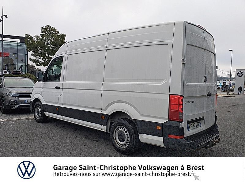 Photo 3 de l'offre de VOLKSWAGEN Crafter Fg 30 L3H3 2.0 TDI 140ch Business Line Traction à 23450€ chez Garage Saint Christophe - Volkswagen Brest