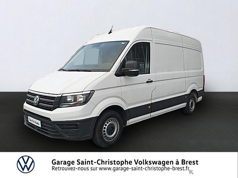 Photo 1 de l'offre de VOLKSWAGEN Crafter Fg 30 L3H3 2.0 TDI 140ch Business Line Traction à 23450€ chez Garage Saint Christophe - Volkswagen Brest