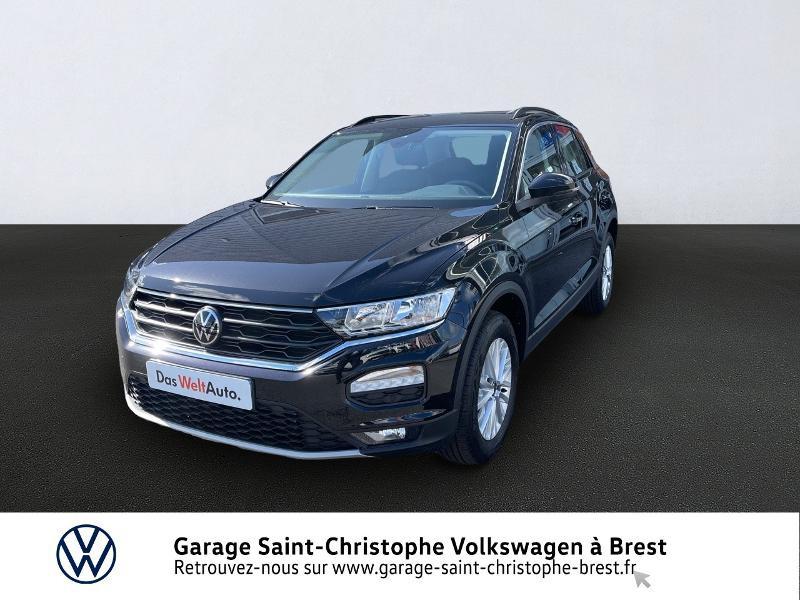 Volkswagen T ROC TDI 115 STYLE Diesel NOIR Occasion à vendre