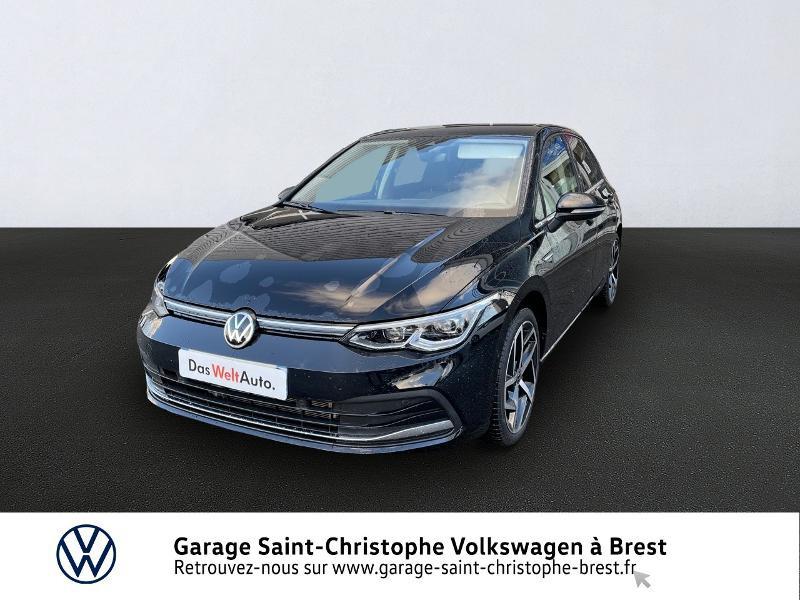 Volkswagen Golf 1.5 eTSI OPF 150ch Style 1st DSG7 Essence NOIR Occasion à vendre