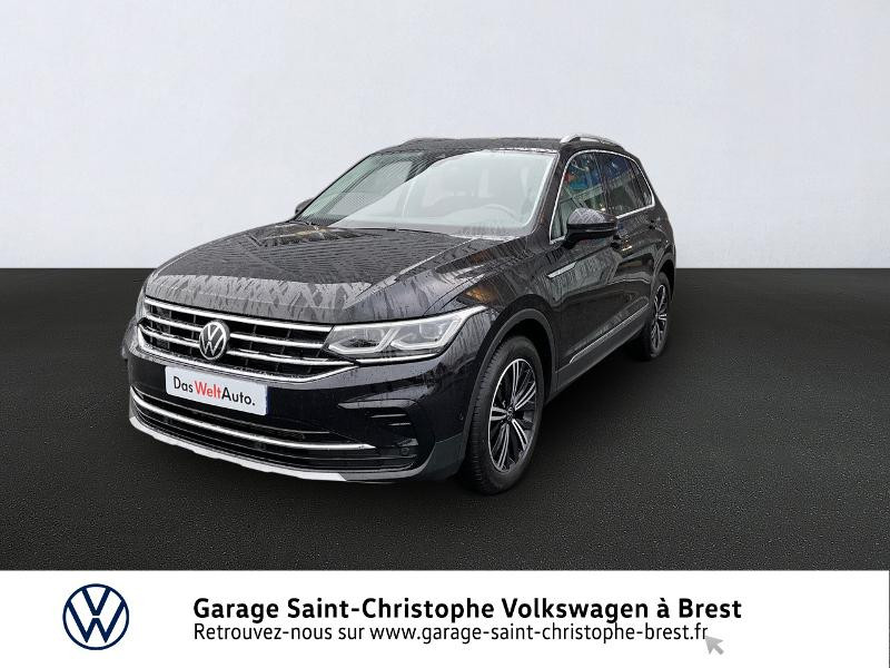 Volkswagen Tiguan 2.0 TDI 150ch Elegance DSG7 Diesel NOIR Occasion à vendre