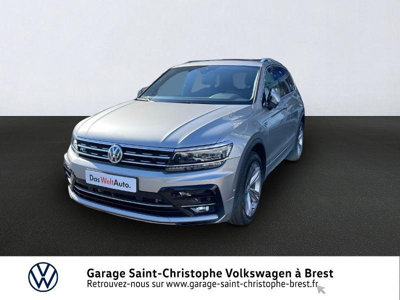 Volkswagen Tiguan 2.0 TDI 190ch Carat Exclusive 4Motion DSG7 Diesel GRIS TUNGSTENE METAL Occasion à vendre