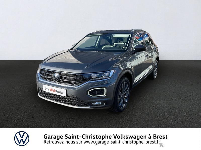 Volkswagen T-Roc 1.5 TSI EVO 150ch Carat DSG7 S&S Essence GRIS Occasion à vendre