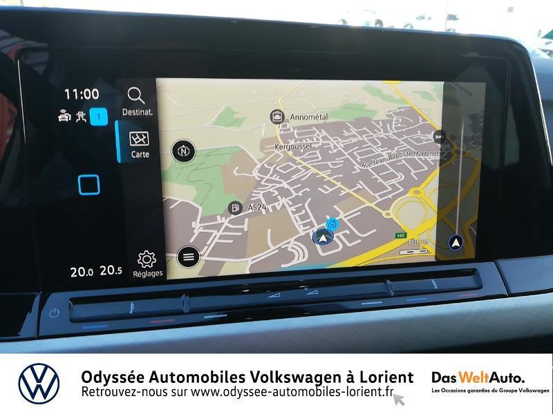Photo 8 de l'offre de VOLKSWAGEN Golf 1.5 TSI ACT OPF 130ch Life 1st 121g à 23690€ chez Odyssée Automobiles - Volkswagen Lorient