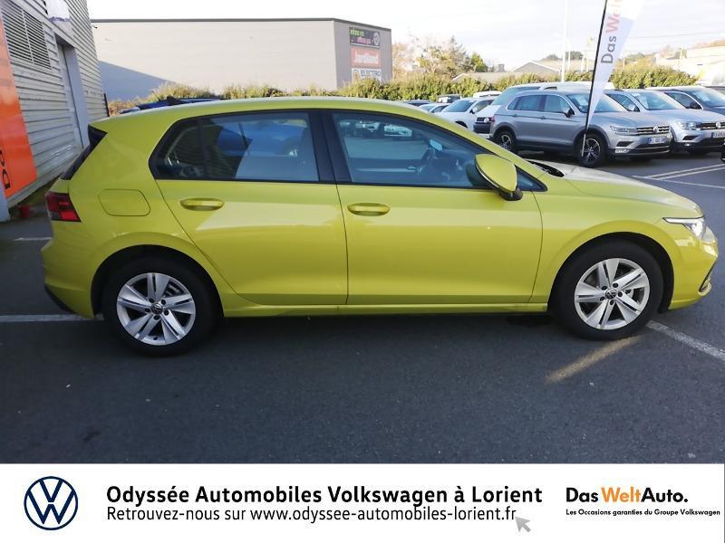 Photo 4 de l'offre de VOLKSWAGEN Golf 1.5 TSI ACT OPF 130ch Life 1st 121g à 23690€ chez Odyssée Automobiles - Volkswagen Lorient