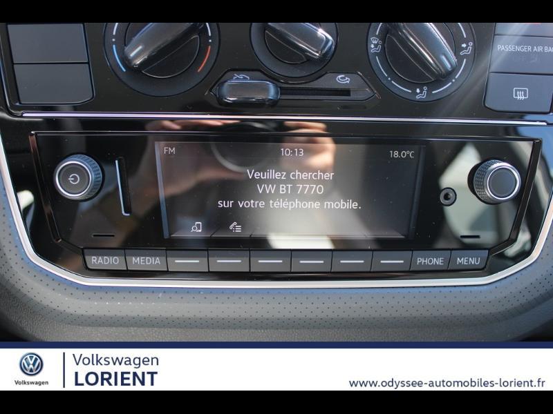 Photo 11 de l'offre de VOLKSWAGEN up! 1.0 60ch BlueMotion Technology IQ.Drive 5p Euro6d-T à 12990€ chez Odyssée Automobiles - Volkswagen Lorient