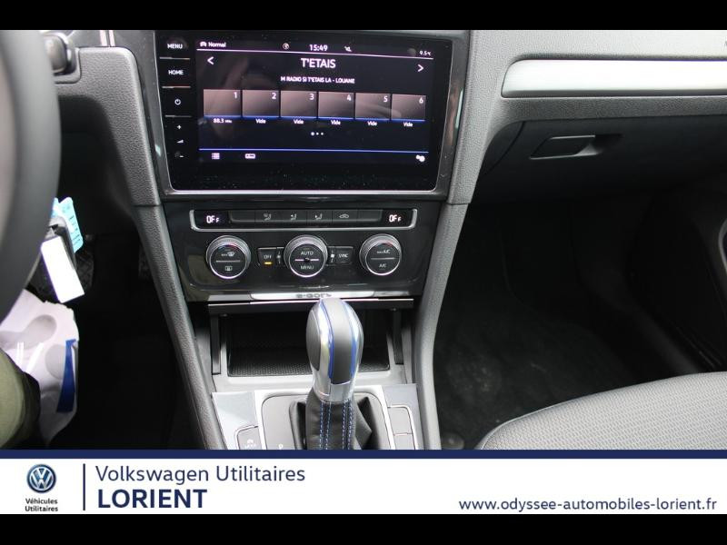 Photo 5 de l'offre de VOLKSWAGEN e-Golf 136ch 8cv à 22990€ chez Odyssée Automobiles - Volkswagen Lorient