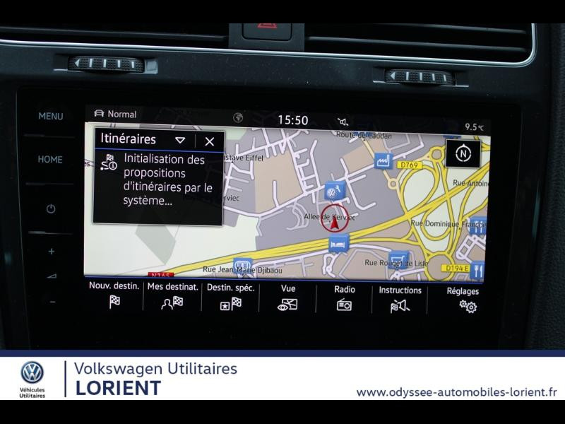 Photo 7 de l'offre de VOLKSWAGEN e-Golf 136ch 8cv à 22990€ chez Odyssée Automobiles - Volkswagen Lorient
