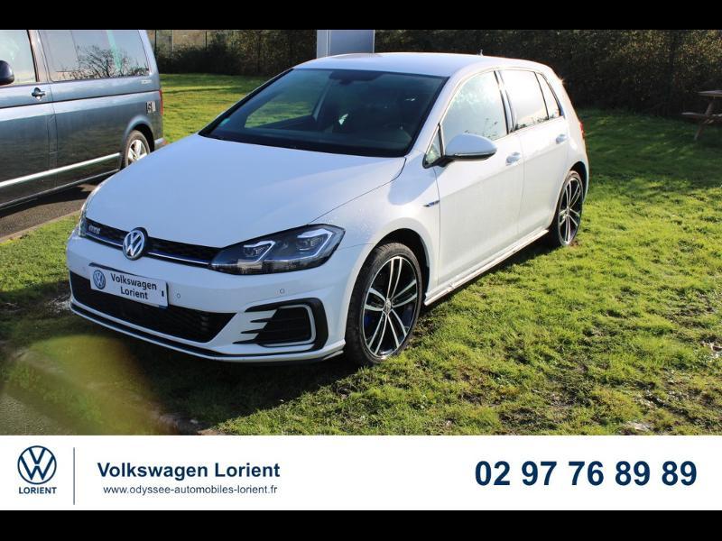 Photo 1 de l'offre de VOLKSWAGEN Golf 1.4 TSI 204ch Hybride Rechargeable GTE DSG6 Euro6d-T 5p à 29990€ chez Odyssée Automobiles - Volkswagen Lorient