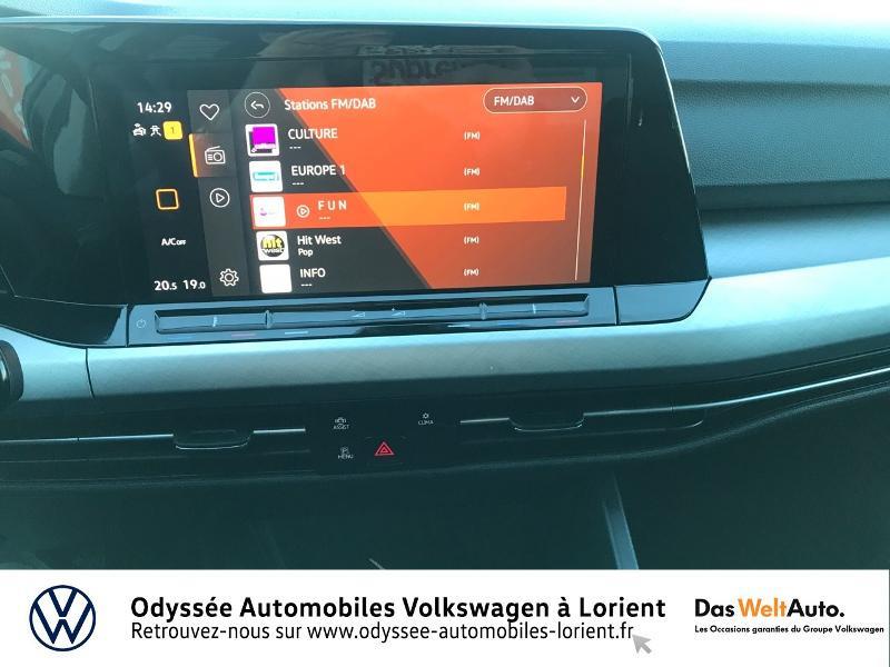 Photo 8 de l'offre de VOLKSWAGEN Golf 2.0 TDI SCR 115ch Life Business 1st 109g à 26490€ chez Odyssée Automobiles - Volkswagen Lorient