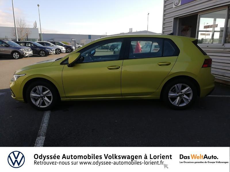 Photo 2 de l'offre de VOLKSWAGEN Golf 1.5 TSI ACT OPF 130ch Life 1st 121g à 23690€ chez Odyssée Automobiles - Volkswagen Lorient