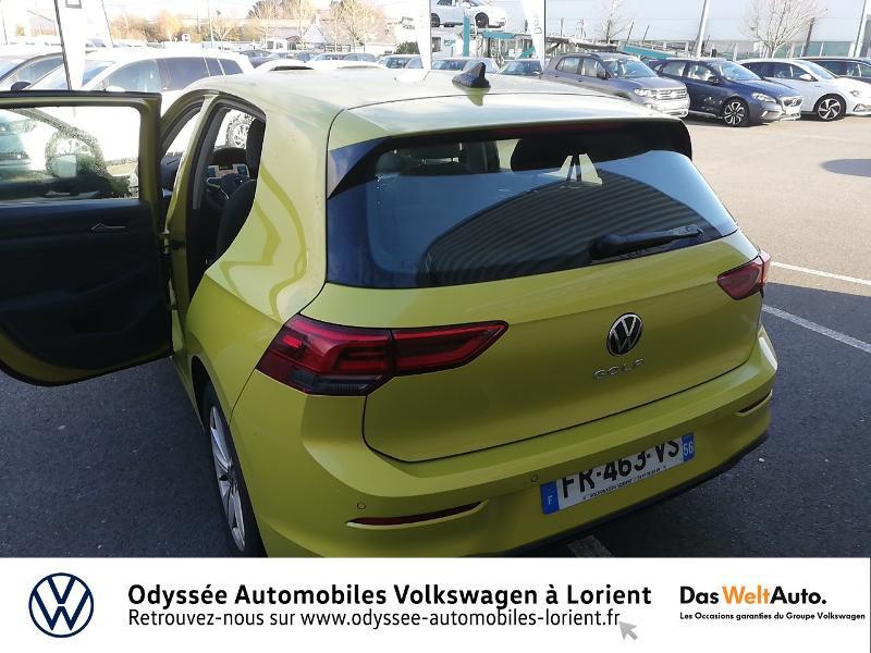 Photo 12 de l'offre de VOLKSWAGEN Golf 1.5 TSI ACT OPF 130ch Life 1st 121g à 23690€ chez Odyssée Automobiles - Volkswagen Lorient