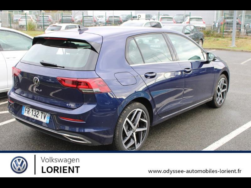 Photo 4 de l'offre de VOLKSWAGEN Golf 8 1.5 TSI Mild Hybrid 150 ch DSG7 Style à 32990€ chez Odyssée Automobiles - Volkswagen Lorient