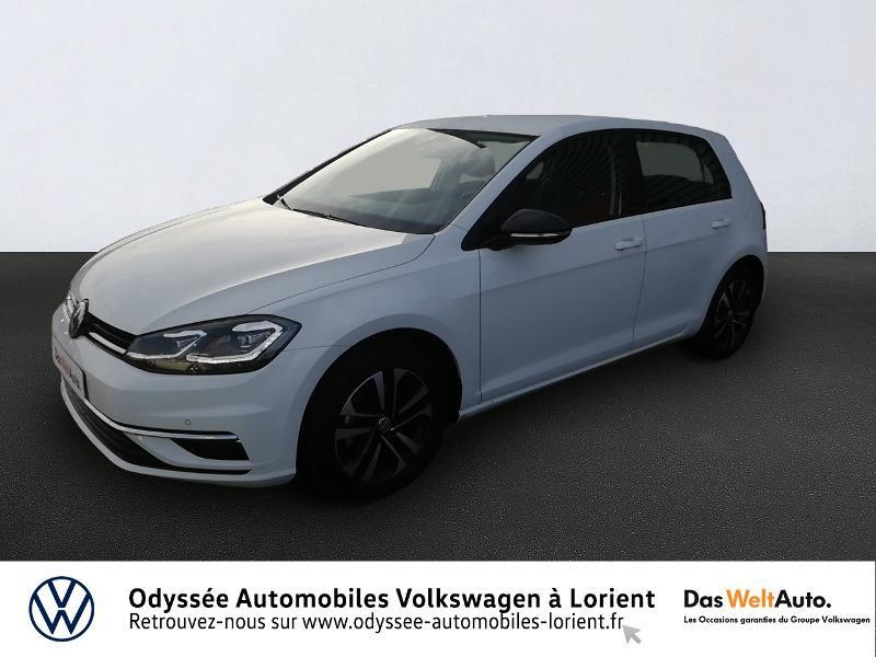 Photo 1 de l'offre de VOLKSWAGEN Golf 1.6 TDI 115ch FAP IQ.Drive Euro6d-T 5p à 20690€ chez Odyssée Automobiles - Volkswagen Lorient