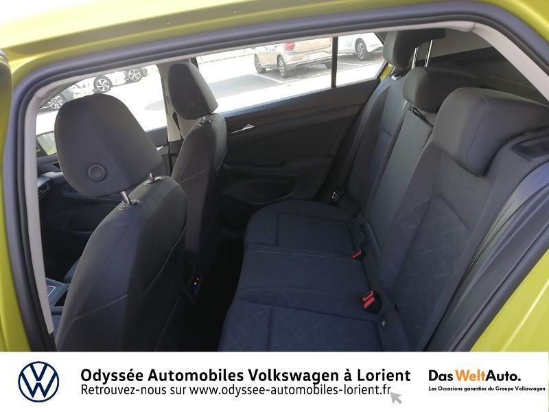 Photo 11 de l'offre de VOLKSWAGEN Golf 1.5 TSI ACT OPF 130ch Life 1st 121g à 23690€ chez Odyssée Automobiles - Volkswagen Lorient