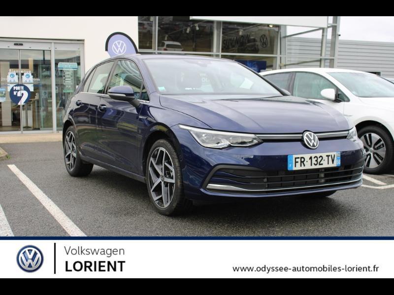 Photo 1 de l'offre de VOLKSWAGEN Golf 8 1.5 TSI Mild Hybrid 150 ch DSG7 Style à 32990€ chez Odyssée Automobiles - Volkswagen Lorient