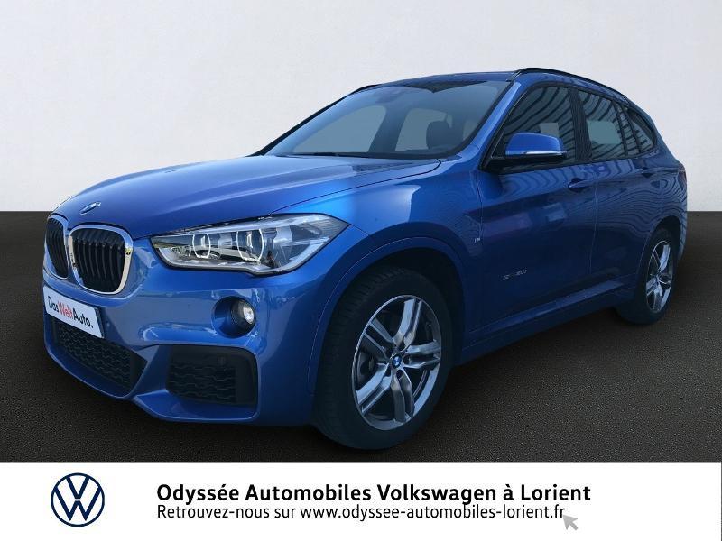 Bmw X1 sDrive20iA 192ch M Sport DKG7 Essence Bleu Occasion à vendre