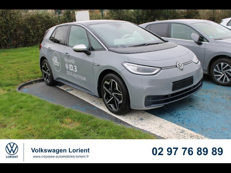 Photo 1 de l'offre de VOLKSWAGEN ID.3 204ch 1st Plus à 37990€ chez Odyssée Automobiles - Volkswagen Lorient
