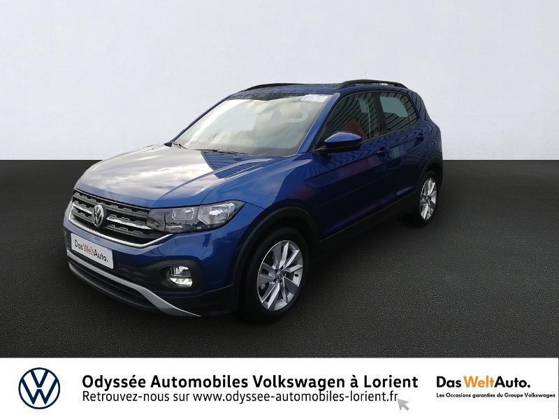 Photo 1 de l'offre de VOLKSWAGEN T-Cross 1.0 TSI 115ch Lounge DSG7 à 21480€ chez Odyssée Automobiles - Volkswagen Lorient