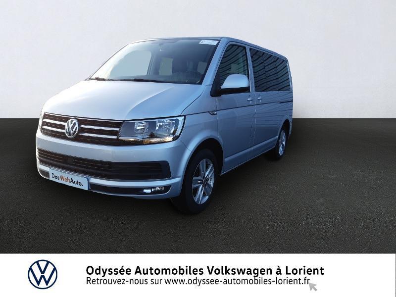 Volkswagen Multivan 2.0 TDI 150ch BlueMotion Technology Carat DSG7 Long Diesel REFLET D'ARGENT METALLISE Occasion à vendre